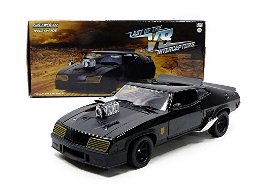 Greenlight 1:24 Last of the V8 Interceptors (1979) -1973 Ford Falcon XB (84051) Die-Cast Vehicle, Black by Greenlight (Image #8)
