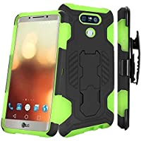 HR Wireless Cell for LG G6 - Black PC / Neon Green