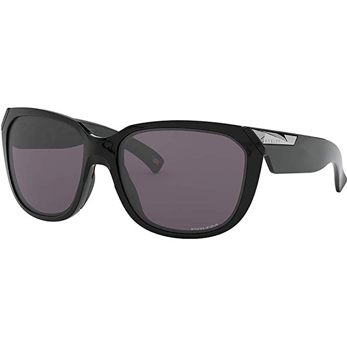 Oakley Rev Up Sunglasses,OS,Polished Black/Prizm Gray by Oakley