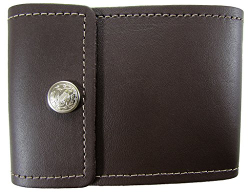 Unisex Leather End Stub Checkbook Cover USA Made