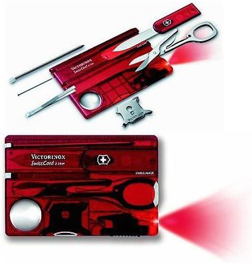 Victorinox Swiss Army SwissCard Lite Ruby