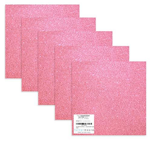 Pink Glitter Vinyl, 12