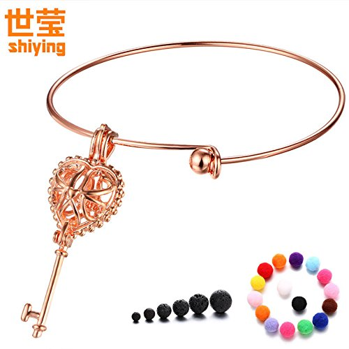 Shi Ying key love perfume oils aroma diffuser bracelets explosion models of foreign trade jewelry bracelet made