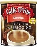 Caffe D'Vita Mocha Instant Cappuccino Mix 16 Ounces