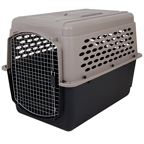(Petmate Vari Kennel Heavy-Duty Dog Travel Crate No-Tool Assembly 2 Sizes 2 Colors)