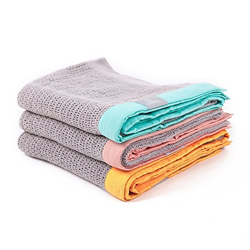 Mama Designs Cellular Blanket (Grey & Pink) Mama Designs Limited CBGP
