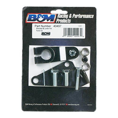 (B&M 40497 Steel Transmission Bracket Kit)