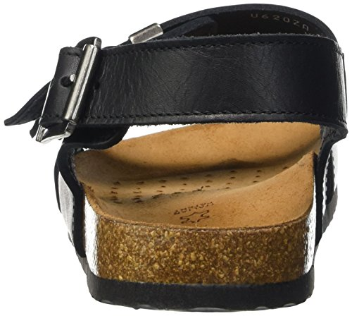 Noir Block's Dalmazio Homme compensées Geox a Blackc9999 Chaussures U pXzwqn0