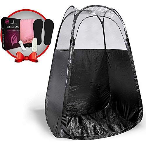 k) The Best, Bigger Than Others, Folds Easily in 30 Seconds and Has NO Logo On Tent Itself! ()