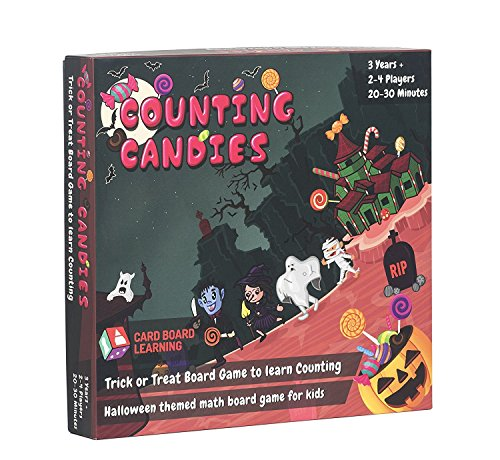 Counting Board Game for Kids - Counting Candies STEM Gift for Kids 4 Years and Above. ()