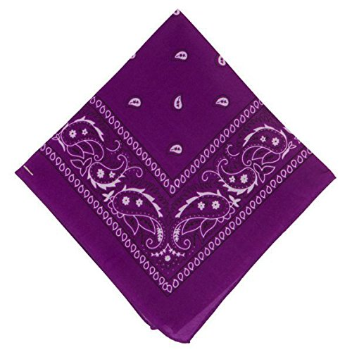 Amscan Bandana, Party Accessory, Purple by Amscan (Image #1)