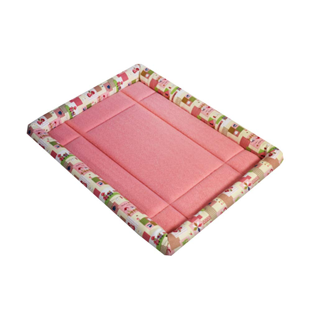 Detachable House Pet Mat Stylish Pet Bed Pet House Kennel,Pet Bolster Bed L