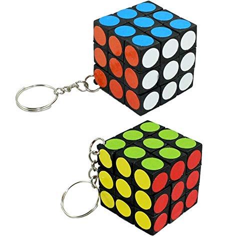 COOLMINIPRIX - Juego de 6 - Llavero Rubik s Cube 3 cm ...