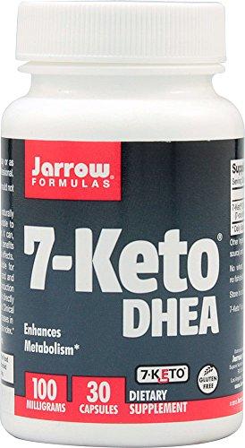 Jarrow Formulas 7-Keto® DHEA -- 100 mg - 30 Capsules