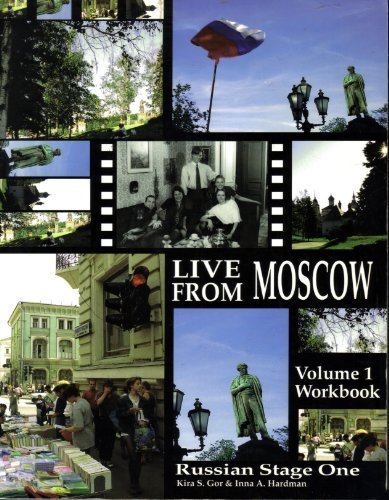 Russian Stage One: Live From Moscow! Vol. 1, Textbook