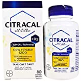 Citracal, Calcium Supplement, Slow Release 1200 + D3, 2Pack (80 Tablets) Calcium Plus Vitamin D3 Review