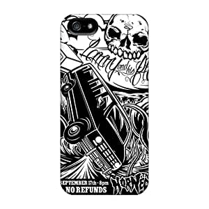 Iphone 5/5s YXj14986ABUD Provide Private Custom Trendy Rise Against Series Protective Hard Cell-phone Cases -MansourMurray
