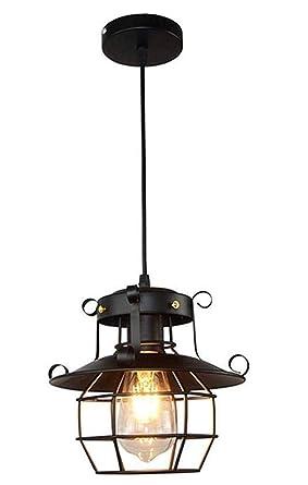 Amazon.com: JKLcom Lámpara de techo con colgante de metal ...