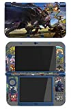 Monster Hunter 4 Ultimate Limited Edition MH4U Game Skin for The Nintendo New 3DS XL Console