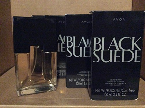 Avon Black Suede Cologne Spray 3.4 fl. oz. Lot 4 bottles