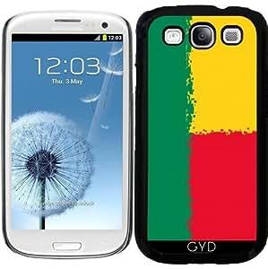 Funda para Samsung Galaxy S3 (GT-I9300) - Benin FLAG- 8 Bits by Cadellin