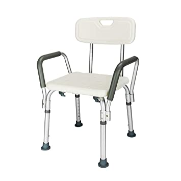 Peachy Mefeir Fda 450Lbs Medical Shower Chair Bath Seat Upgraded Transfer Bench Stool Framework Spa Bathtub Chair No Slip Safety Adjustable 6 Height With Caraccident5 Cool Chair Designs And Ideas Caraccident5Info