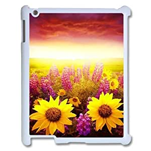 Sunflower ZLB588369 Personalized Phone Case for Ipad 2,3,4, Ipad 2,3,4 Case