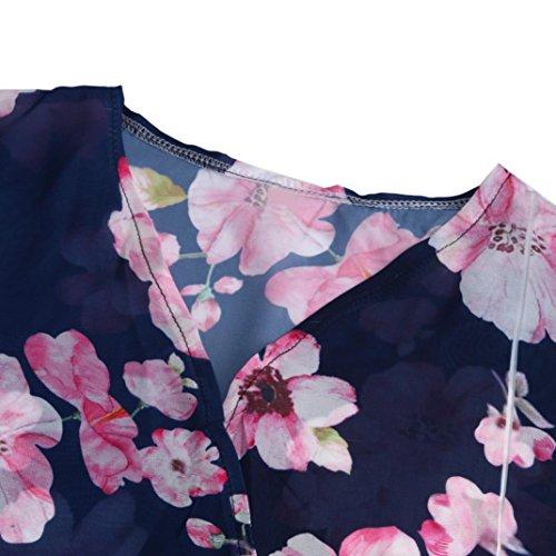 Imprim Manches Chemisier Covermason 3 Blouse Manteau Veste Femme Kimono 4 wvSZTqz