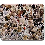 Dogs Galore Mouse Pad by treble318