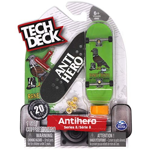 8f3207e99 Amazon.com: Tech Deck Antihero Skateboards Ultra Rare Series 8 Raney Beres  Fingerboard: Toys & Games