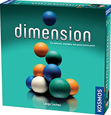 Thames & Kosmos Dimension: The Spherical Stackable Fast Paced Puzzle Game