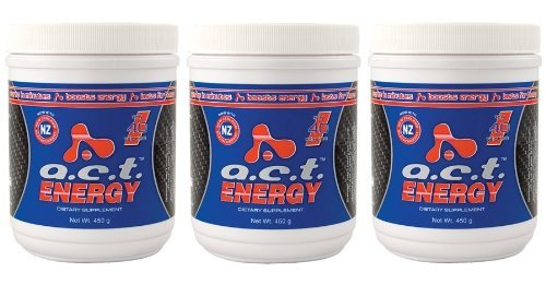 3 Canisters ACT Energy Natural Healthy Energy Drink A.C.T. By Youngevity (Ships Worldwide)