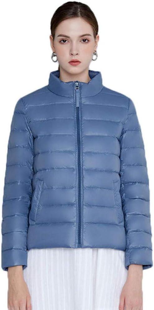 N / A Chamarra Ligera Y Resistente Al Agua. Down-Alternative-Outerwear-Coats Mujer-Azul_3XL