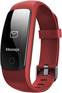 Smart Bracelet, Bluetooth 4.0 Heart Rate Monitor with 0.96'OLED Touch Panel, Pedometer, GPS & Auto Sleep Tracking, Fitness Tracker for iPhone Xs max/Xs/XR/X/8/7/6/SE, iPad, Samsung Galaxy S9/S8/S7/Edge and More …