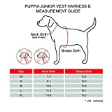 Puppia Authentic Junior Harness B, X-Large, Pink