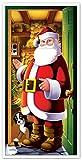 Best Beistle Of The Doors - Beistle 1-Pack Santa Door Cover, 30-Inch by 5-Feet Review