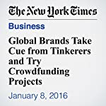 Global Brands Take Cue from Tinkerers and Try Crowdfunding Projects | Stacy Cowley