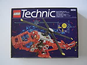 LEGO 8856 Technic - Helicóptero, color rojo