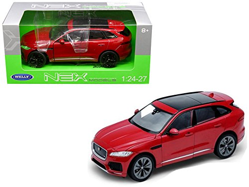 Welly Jaguar F-Pace Red 1/24-1/27 Diecast Model Car for sale  Delivered anywhere in Canada