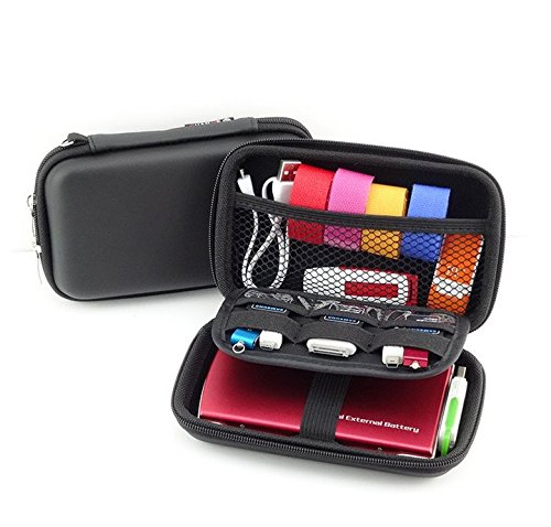 Small Protective Diabetic Travel Case Testing Supplies Organizer Pouch Bag for Glucose Meter/Testing Strips/Lancing Device/Lancets/Blood Glucose Monitoring System (Black)
