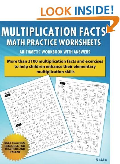 Math Worksheets math worksheets online free : Multiplication Practice: Amazon.com