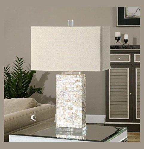 Capiz Shells Wholesale - Uttermost Aden Capiz Shell Lamp