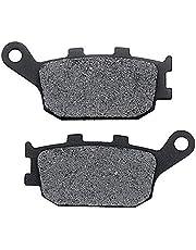 KMG Rear Brake Pads Compatible with 2011 Yamaha FZ8 - Non-Metallic Organic NAO Brake Pads Set