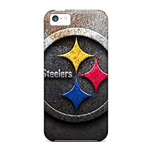 High Quality Phone Cover For Iphone 5c With Customized Fashion Pittsburgh Steelers Skin VIVIENRowland