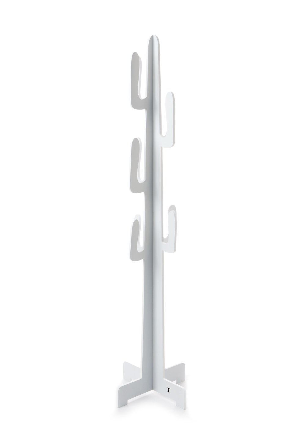 Bianco Appendiabiti con attaccapanni ROCKFORD Wink design