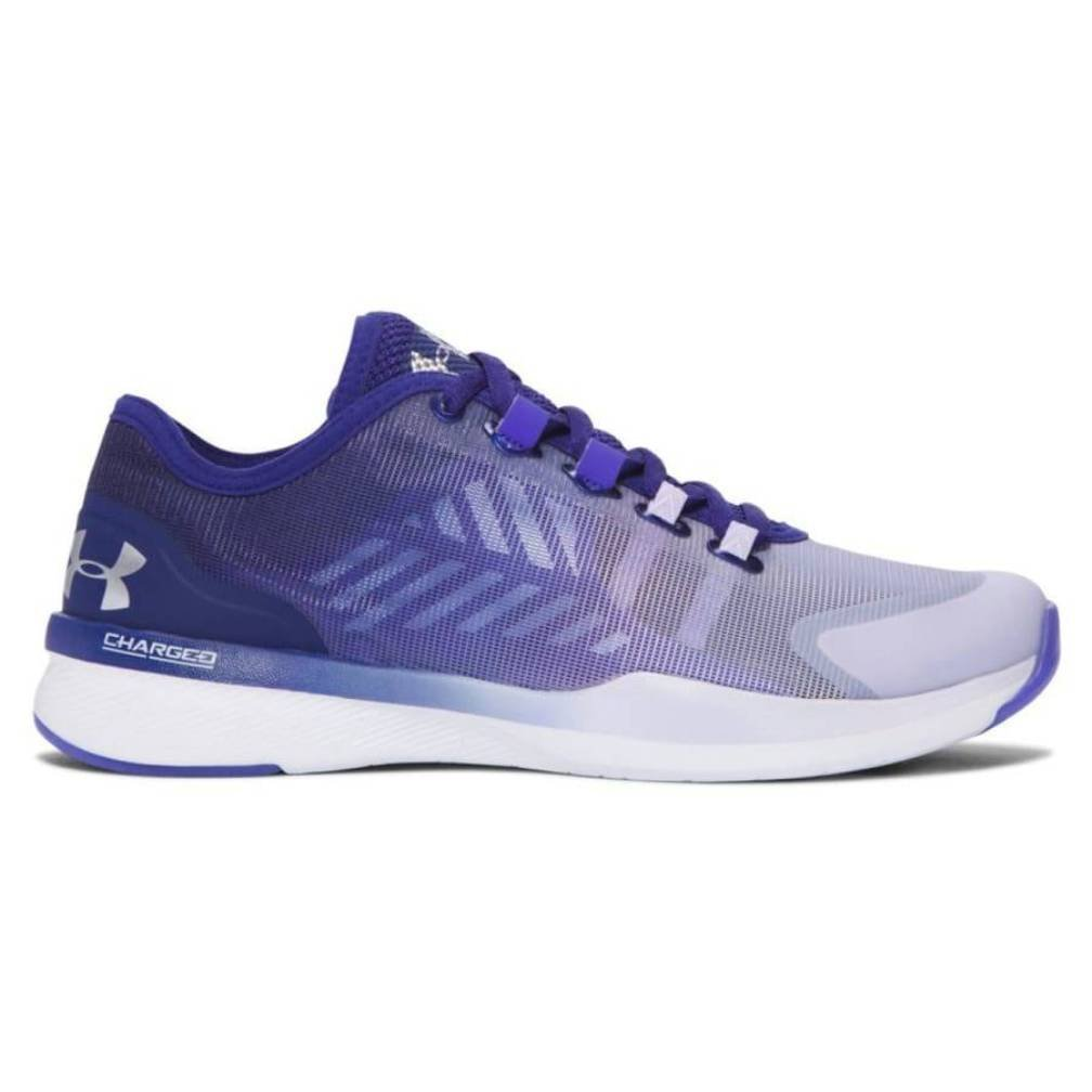 Under Armour UA W CHARGED PUSH TR SEG - rhino grau