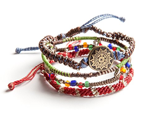 Wakami Earth Bracelet With 4 Strands