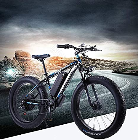 SHIJING Amor Libertad 26 Pulgadas Bicicleta eléctrica 48V 13Ah de ...