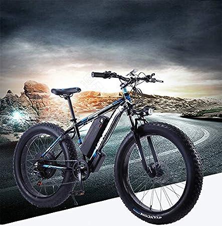 SHIJING Amor Libertad 26 Pulgadas Bicicleta eléctrica 48V 13Ah de la batería de Litio de montaña Bicicleta eléctrica 500W Motor eléctrico Nieve de Bicicletas