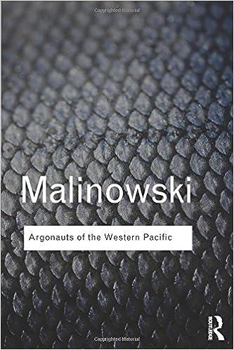 Argonauts of the Western Pacific